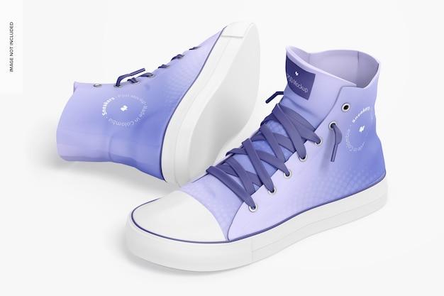 Sneakers mockup sneakers