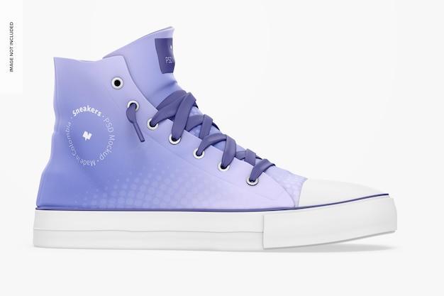 Sneakersmodel, linkeraanzicht