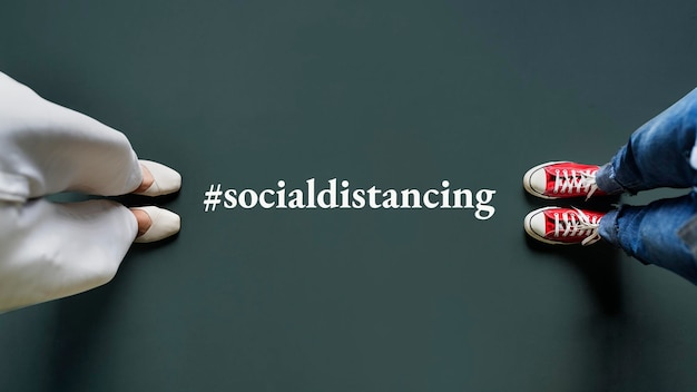 Social distancing tijdens de coronapandemie