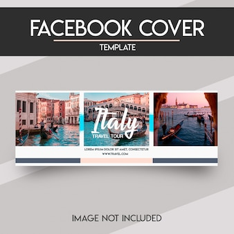 Social media facebook voorbladsjabloon Premium Psd