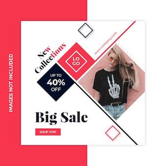 Social media marketing shopping pack
