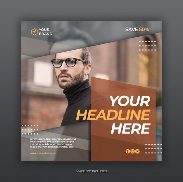 Social media post flyer