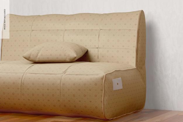 Sofamodel, rechteraanzicht