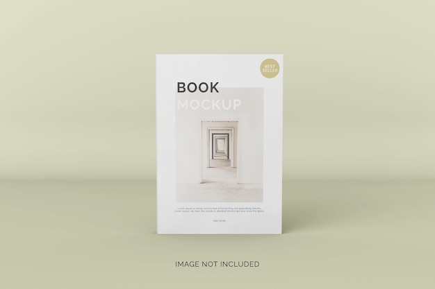 Softcover boekmodel vooraanzicht