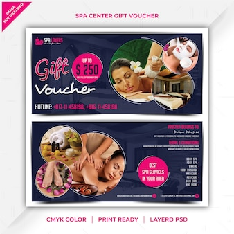 Spa center-cadeaubon