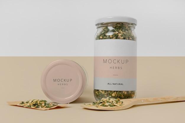 Specerijen met label-modelassortiment