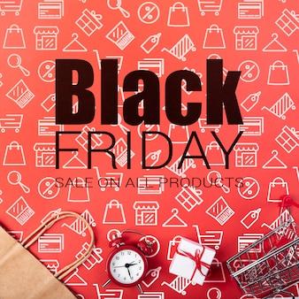 Speciale aanbiedingen voor black friday-campagne
