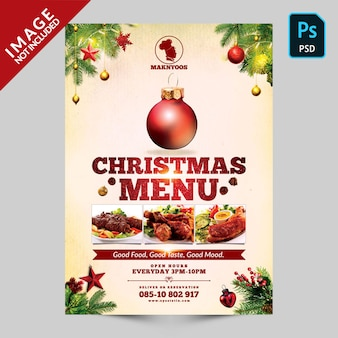 Speciale natale manu front side