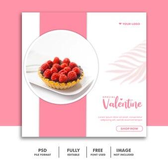 Speciale valentijnspost voor sociale media