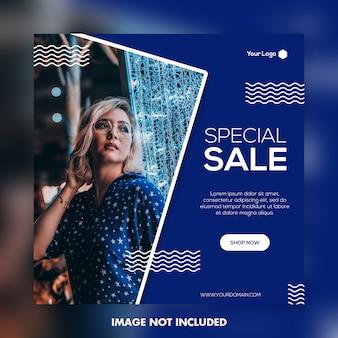 Speciale verkoopbanner