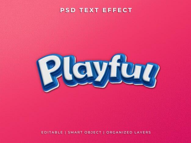Speels tekststijleffect