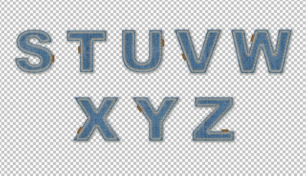 Spijkereffect letters sz