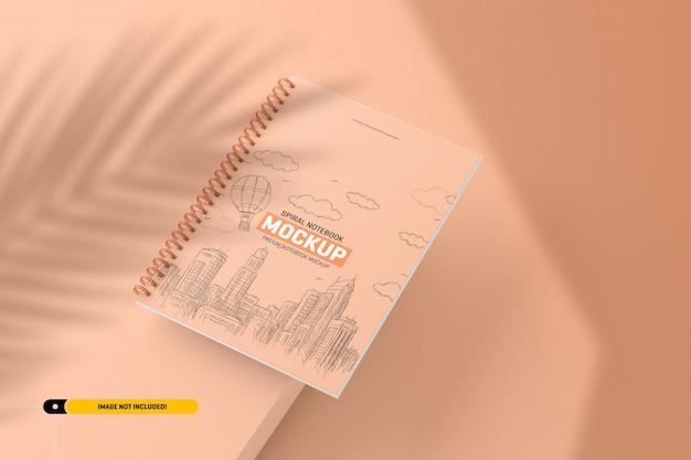 Spiraal notebook mockup