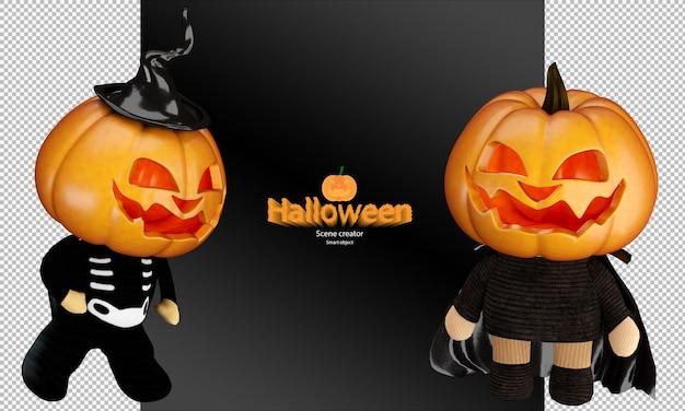 Spookachtige en schattige halloween pompoen pop halloween pompoen speelgoed cosplay