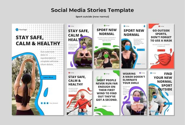 Sport buiten social media-verhalen