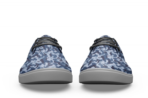 Sport schoen mockup geïsoleerd