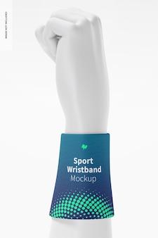 Sportarmband met handmodel