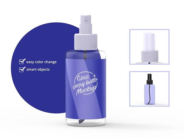 Spray fles mockup realistisch
