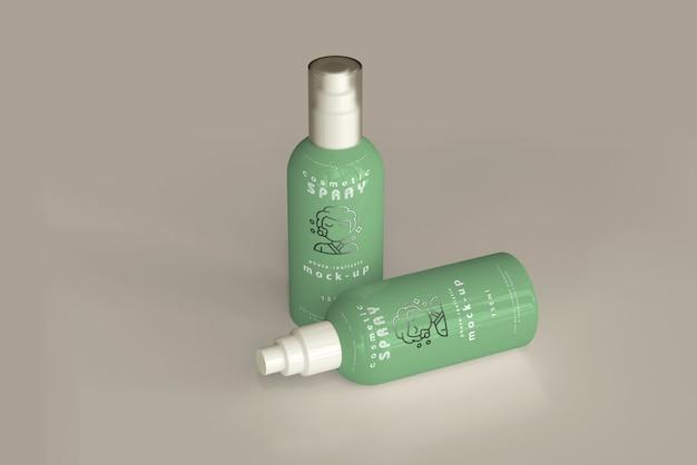 Spray fles mockup