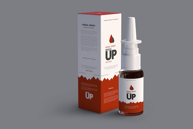 Spray nasale mock up