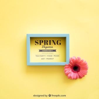 Spring mock up con cornice