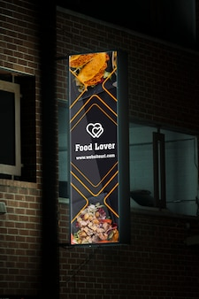 Stad billboard concept mock-up