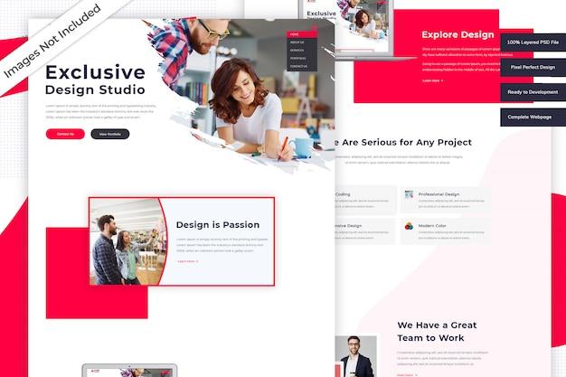 Start website template
