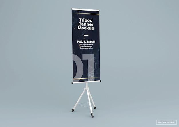 Statief banner standaard mockup
