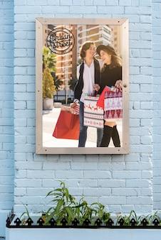 Stedelijk straataanplakbordmodel
