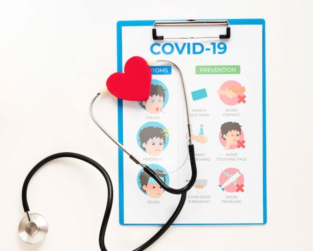 Stetoscopio negli appunti