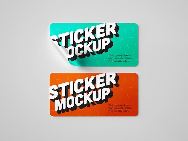 Sticker model