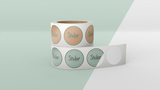 Stickerrol mock-up