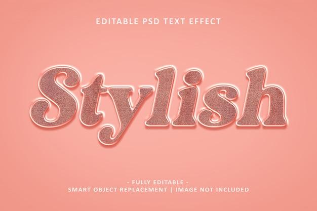 Stijlvol teksteffect