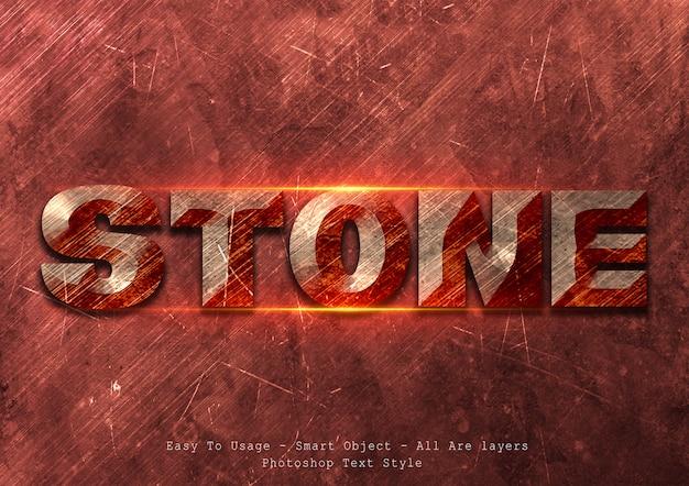 Stile di testo di pietra
