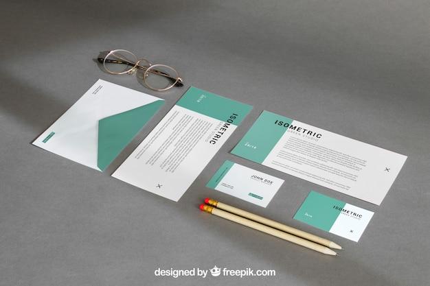 Stilleven briefpapier mockup