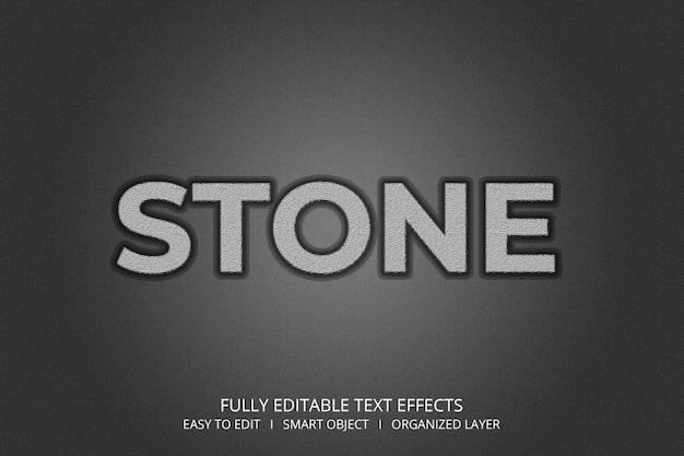 Stone 3d-tekststijleffect
