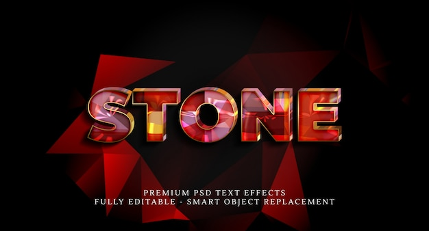 Stone style-effect