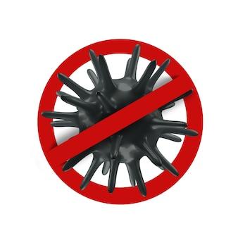 Stop het nieuwe coronavirus