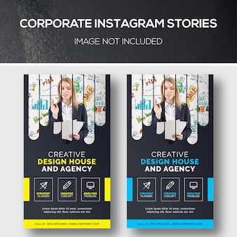 Storie corporate instagram