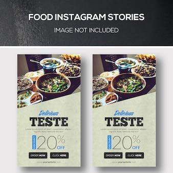 Storie di instagram alimentari