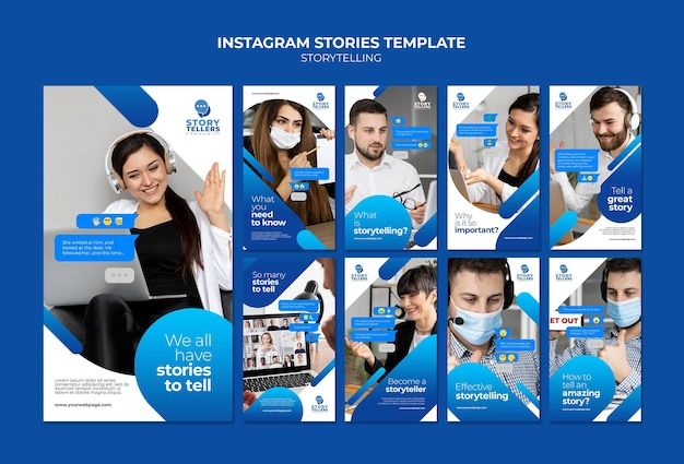Storytelling para marketing de historias de instagram