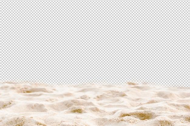 Strand en zee helder water van vakantie ontspannen zomer psd