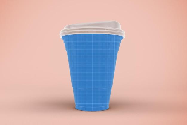 Strawless cup mockup mockup