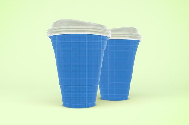 Strawless cup mockup
