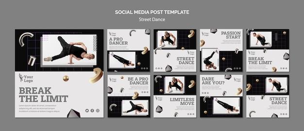 Streetdance instagram-berichten