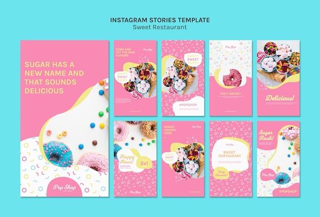 Sugar rush candy store instagram-verhalen