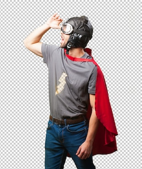 Super held man