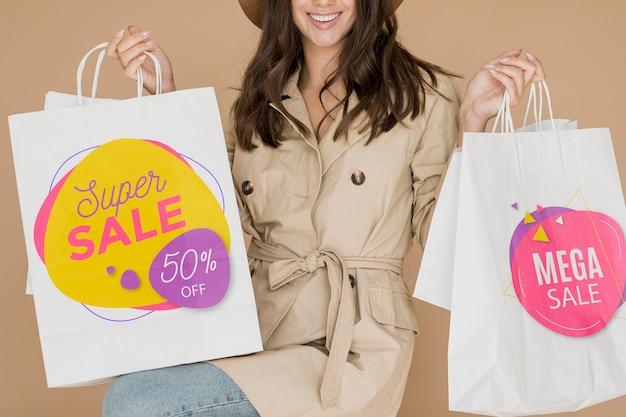 Super promozioni commerciali disponibili per le donne