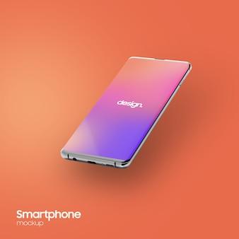 Superrealistisch smartphonemodel
