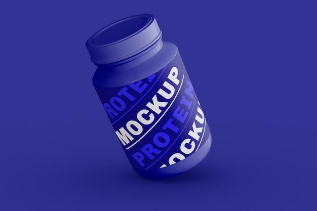 Supplement jar mockup